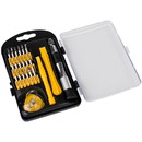 Parts Express 23 Pc Precision Screwdriver Set for Mobile Phone and Other Electronic Repairs