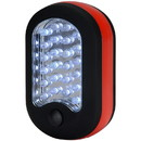 Parts Express 24+3 LED Compact Work Light with Magnet and Hanger Clip