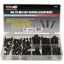 Grip Tools 43134 106-Piece Hex Cap Screw Kit