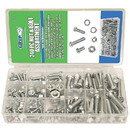Grip Tools 43163 240-Piece SAE Nut and Bolt Kit