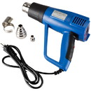 Parts Express 1500 Watt Dual-Mode Heat Gun with LCD Display and Variable Temperature
