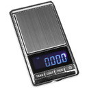 Parts Express Digital Pocket Scale 500g Capacity x 0.01g Detail with Large 1/2