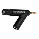 Dayton Audio iMM-6 Calibrated Measurement Microphone for Tablets iPhone iPad and Android
