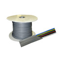 Factory Buyouts D-620 Dalco 6 Conductor Silver Satin Flat PVC Per ft.