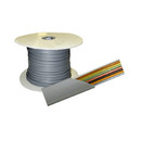 Factory Buyouts D-621 Dalco 8 Conductor Silver Satin Flat PVC Per ft.