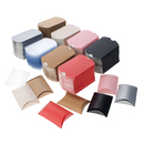 Aspire Set of 50 Multicolor Pillow Paper Boxes, 3-1/2
