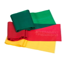 Thera Band 20380 Thera Band Resistance Band Beginner Kit, Yellow, Red and Green
