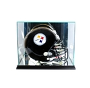 Perfect Cases Rectangle Football Helmet Display Case