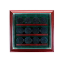 Perfect Cases 12 Hockey Puck Cabinet Style Display Case