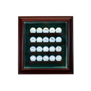 Perfect Cases 20 Golf Ball Cabinet Style Display Case