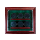 Perfect Cases 6 Hockey Puck Cabinet Style Display Case