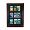 Perfect Cases 9 Graded Card Cabinet Style Display Case