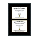 Perfect Cases Double Diploma Frame for 8.5