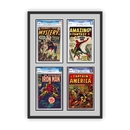 Perfect Cases and Frames Quad 4 Graded Comic Book Frame