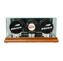 Perfect Cases Triple Puck Display Case