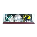 Perfect Cases Triple Mini Helmet Display Case