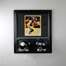 Perfect Cases Wall Mounted Double Mini Helmet Case 8 x 10