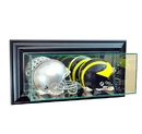 Perfect Cases Wall Mounted Double Mini Helmet Dispaly Case