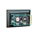 Perfect Cases Wall Mounted Double Puck Display Case