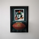 Perfect Cases Wall Mounted Football Display Case with 8 x 10