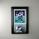 Perfect Cases Wall Mounted Mini Helmet 8 x 10 Display Case