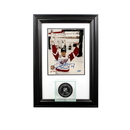 Perfect Cases Wall Mounted Puck Display Case with 8 x 10