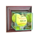 Perfect Cases Wall Mounted Softball Display Case