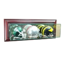 Perfect Cases Wall Mounted Triple Mini Helmet Display Case