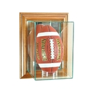 Perfect Cases Wall Mounted Upright Football Display Case