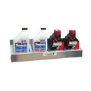 Pit Posse 4 Mount Oil Rack Silver - 305
