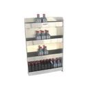 Pit Posse Senior Oil Cabinet Silver - 441