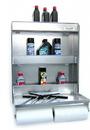 Pit Posse Fold Up Work Station Cabinet Silver - 445