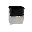 Pit Posse Refuse Container Silver - 453