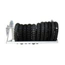 Pit Posse 4 Foot Fold Up Tire Rack - 576