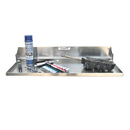 Pit Posse Flip Out Work Tray 32 Inch Silver - 610