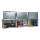 Pit Posse 72 Inch Overhead Cabinet Silver - 903