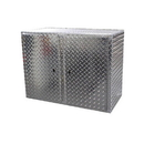 Pit Posse Wall Cabinet Silver - 910