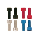 Pit Posse Anodized Aluminum Allen Head Bolts - 6 Pcs