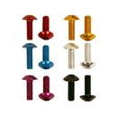 Pit Posse Aluminum Button Head Bolt 6 Pieces
