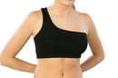 Pizzazz 1500 One Strap Sports Bra