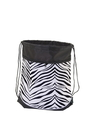 Pizzazz ST50AP Animal Print Stringpack / Pom Bag