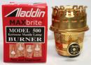 Aladdin Brass Oil Burner - Maxbrite N500B - Aladdin, 100003890