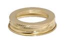 B & P #2 Brass Plated Screw On Collar, 120011