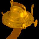 B & P #2 Queen Anne / Solid Brass Burner, 122