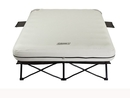 Coleman Queen Airbed Cot W/ Side Tables and 4D Battery Pck