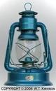 Little Wizard Lantern - Blue Plain #1