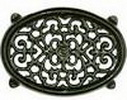 John Wright Trivet - Green Majolica Filigree, 33-307