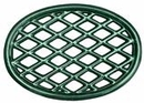 John Wright Trivet - Green Majolica Lattice, 33-353
