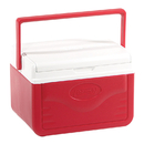 Coleman Flip Lid 6 Personal Cooler - Red, 5205A753G