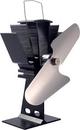 Caframo Fan, Heat Powered 125 CFM Wood Stove Fan - 2 Blad, 810CA